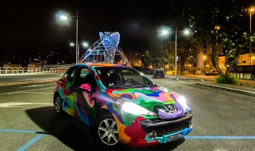 Gesta Future Art Car Project - Design ©Gesta Future 2016- Photo ©Valentina Venditti